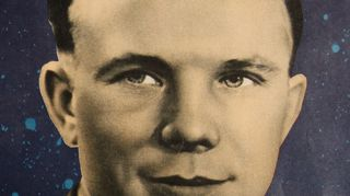 Juri Gagarin Ogonjok 16/1961 -lehdessä (Iina Kohonen: Gagarinin hymy).