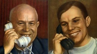 Puhelu pääsihteeriltä. Teoksesta Utro kosmitšeskoij ery 1961 (Iina Kohonen: Gagarinin hymy).