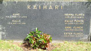 Kalle Kaiharin hauta