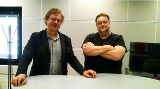 Pekka Sauri ja Risto Nordell