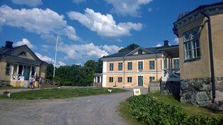 Brinkhallin uusklassinen kartano Kakskerran saarella Turussa.
