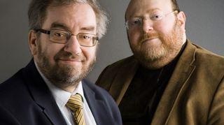 Jaakko Hämeen-Anttila ja Anas Hajjar