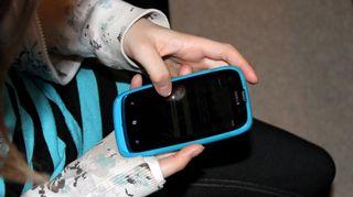 Kännykän käyttöä