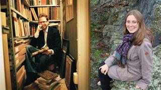 Peter Mickwitz ja Pauliina Haasjoki