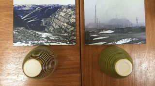 Cecilia Haalandn käytti keramiikassa Kirkkoniemen ja Nikkelin kaivosten saasteita