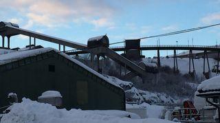 Lakkautettu rautamalin jalostamo, Kirkkoniemi, Norja
