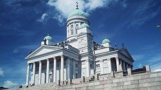 Carl Ludvig Engelin suunnittelema Helsingin Suurkirkko eli Tuomiokirkko