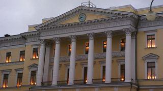 Carl Ludvig Engelin suunnittelema Valtioneuvosto