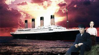 Titanicilla matkaava pariskunta Tilda ja Karl