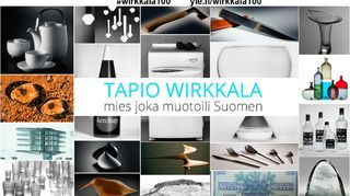 Tapio Wirkkalan 101-vuotispäivä on 2.6.2016.