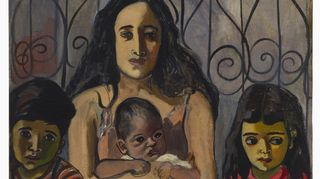 Alice Neel: Espanjalainen perhe (The Spanish Family) (1943)