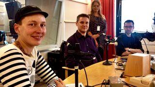 Kaisa Leka, Tero Mielonen ja Pentti Otsamo.