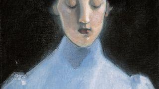 Helene Schjerfbeckin teos Hiljaisuus vuodelta 1907.