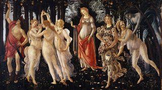 Renessanssimaalari Sandro Botticellin maalaus on noin vuodelta 1478. Se esittää Venus-jumalatarta kevätpuutarhassa muiden Kreikan mytologian hahmojen keskellä.