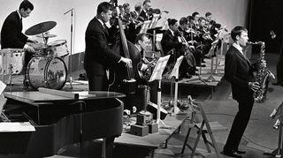 Jazzia vuosimallia 1964. Kuva Ylen arkistoista.
