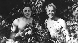 Aatamin puvussa ja vähän Eevankin (1931) on ensimmäinen suomalainen pitkä äänielokuva. 1930-luvulta alkaa myös suomalaisen elokuvamusiikin tarina.