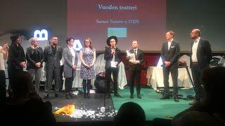 Vuoden teatterinaThalia-gaalassa palkittiin Riihimäen teatteri.