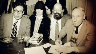 Carl Solomon, Patti Smith, Allen Grinsberg ja William S. Burroughs