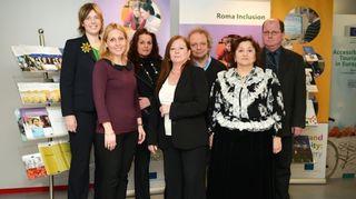 Euroopan komission oikeudellisen osastossa toimivan yhdenvertaisuusosaston romaniasioiden koordinaatioyksikkö.