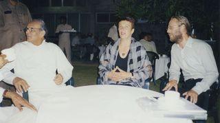 Aktivismia Satu Hassin kanssa.