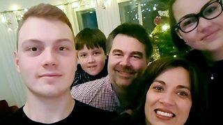 Oma perhe on Tuomaalle tärkeä.