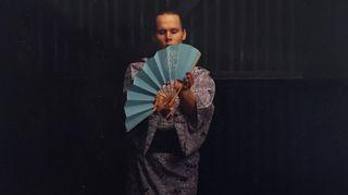 Tero Saarinen keskittyy harjoittelemaan Japanissa traditionaalista kabukia 1993.