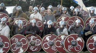 Viikinkimiekkailu ja keskiaika ovat Katleenan rakkain harrastus.