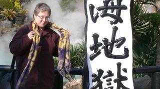 Anita Jensen sai 1990-luvun puolivälissä stipendin taideopetukseen Japaniin.