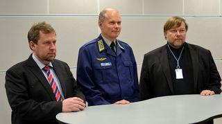 Jussi Lähde, Jarmo Lindberg ja Markus Leikola.