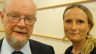 Osmo Soininvaara ja Reetta Räty