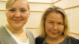 Taru Tujunen ja Tuija Aalto