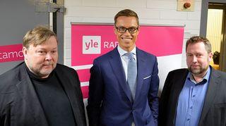 Markus Leikola, Alexander Stubb ja Jussi Lähde