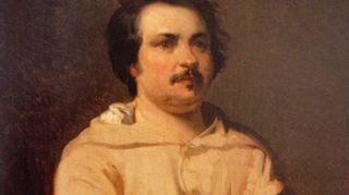 Honoré de Balzac (Louis Boulangerin maalaama muotokuva)