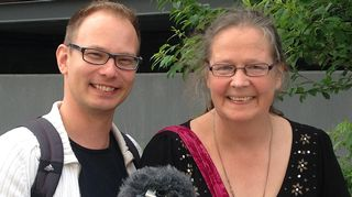 Timo Asikainen ja Eira Mollberg.