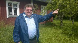 Tukholman Suomen instituutin johtaja Anders Eriksson