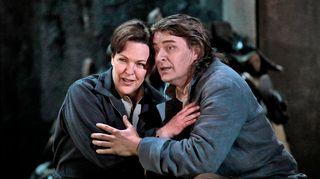 Adrianne Pieczonka (Leonore) ja Klaus Florian Vogt (Florestan)
