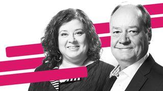 Radio 1 vastaa. Anna Simojoki ja Kaj Färm.