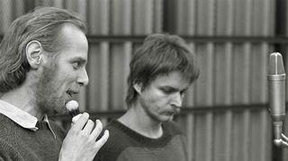 Vesa Vierikko (vas.) ja Heikki Määttänen. Kuva: Leif Öster/Yle