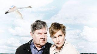 Radioteatteri esittää: Ikimaa (2015) Kuvassa Eliel (Juha Muje) ja Sora (Hanna Raiskinmäki)