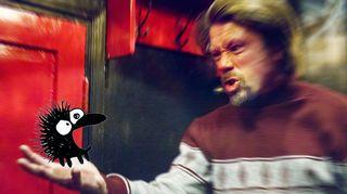 Radioteatteri esittää: Kiroileva siili. Kuvassa Kiroileva siili (Tommi Eronen).