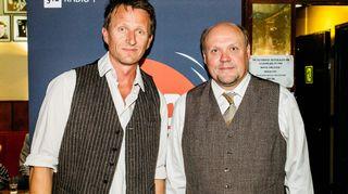 Tobias Zilliacus ja Hannu-Pekka Björkman.