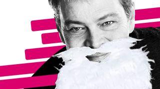Roman Schatz joulupukkina