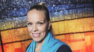 Kirjailija Katri Manninen.