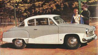 Wartburg 311 Coupé. Esitekuva vuodelta 1959.
