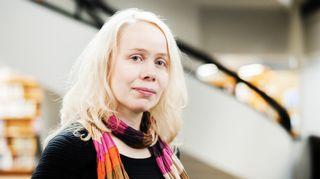 Pauliina Rauhala. Kuva: Pekka Niittyvirta/Gummerus.