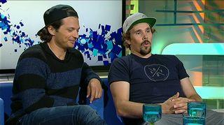 Video: Marcus Sandell ja Andreas Romar Ylen Urheiluviikonlopun vieraina 2014