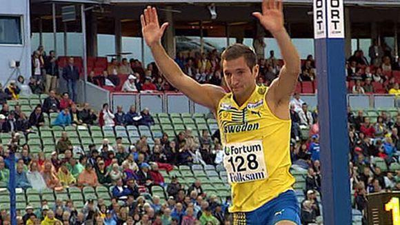 Linus Thörnblad otti odotetun voiton korkeushypyssä.