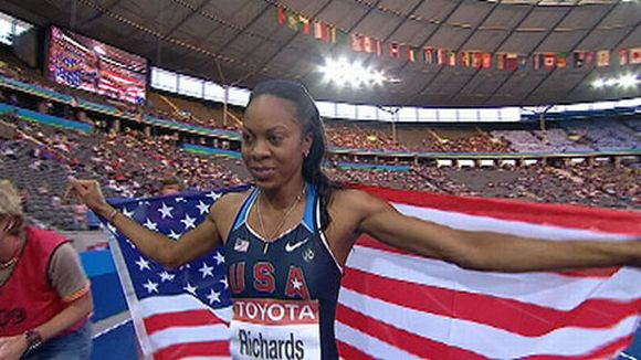 Sanya Richards-Ross.