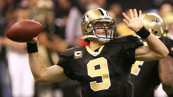 New Orleans Saintsin Drew Brees