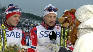 Video: Petter Northug Yle Urheilun haastattelussa.